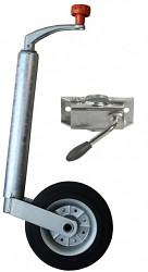Opěrné kolečko KM-01 PROFI s držákem 48mm - set