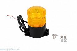 Maják oranžový LED 12-24V