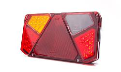Zadní skupinová svítilna W124 941 LED levá - osvit SPZ, mlhovka