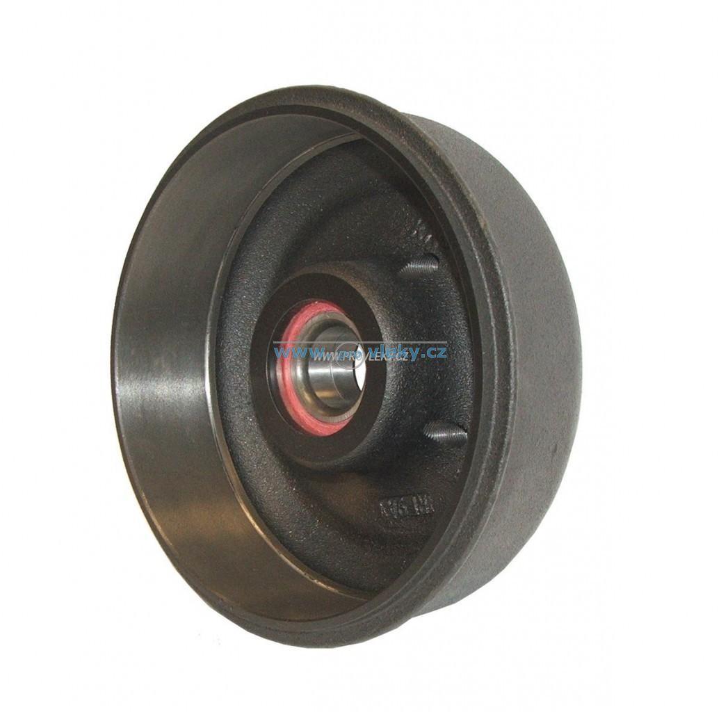 Brzdový buben KNOTT; 200x50; 100x4 - Náhradní díly - Brzdové bubny