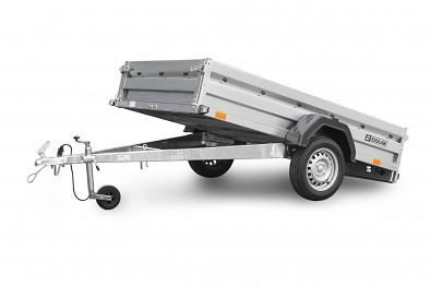Přívěs Zaslaw 265SU 265x132x35 750kg sklopný sklopná korba
