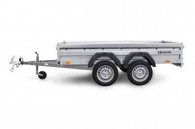 Přívěs Zaslaw 265T 750kg 265x132x35 750kg , dvojitý blatník proti utřepání tandemového blatníku