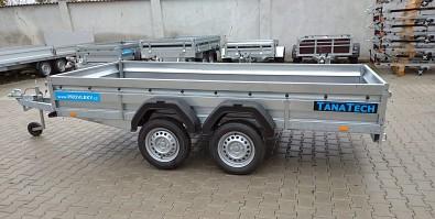 Nebrzděný přívěsný vozík do 750kg dvounápraovvý