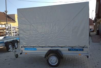 Plachta s konstrukcí na přívěsný vozík Zaslaw 1,5m