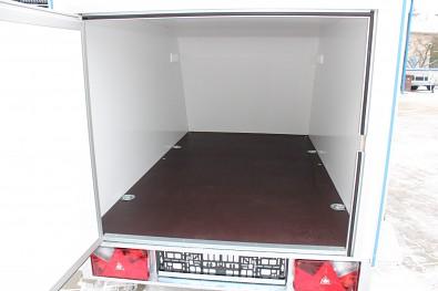 Skříňový přívěs Mini Cargo TF 3 2m 750kg 4ks kotvících misek v nákladovém prostoru
