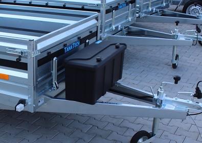 Box na nářadí na přívěsný vozík