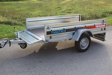 Přívěsný vozík Lider plechové bočnice od Tanatechu