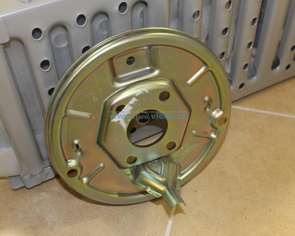 Štít montovaný 200x50 KNOTT L/P - Náhradní díly - Díly do brzd Knott