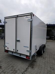 Přívěs skříňový Tomplan TFS 420T.00 2700kg 4200x2000mm zadní dvoukřídlé dveře