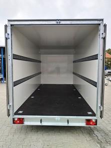 Přívěs skříňový Tomplan TFS 420T.00 2700kg 4200x2000mm ložný prostor