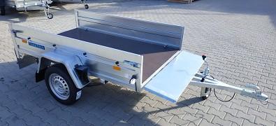 Přívěs FRACHT M 230x125 750kg listová pera