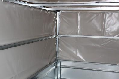 Plachta s konstrukcí Lider 80cm P233 - šroubovaná konstrukce ze zinkovaných profilů