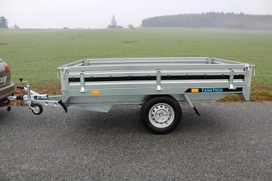 Přívěs Hochlader 250+ 250x150cm 1300kg pohled na bok přívěsu