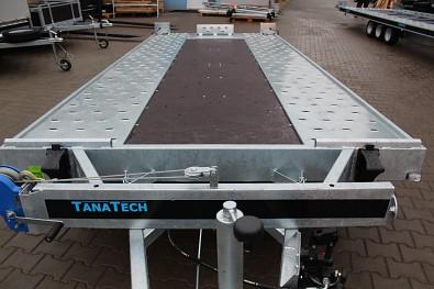 Přívěs MARTZ GT 480 KIPPBAR S 3500kg sklopný autopřepravník - středová překližka podlahy