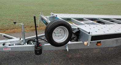 Přívěs martz GT 580 Kippar 3500kg sklopný - hydraulická pumpa