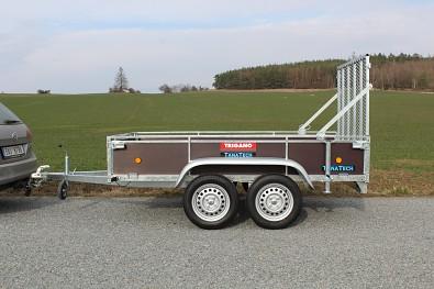 Zadní nájezdová rampa LIDER pro přívěs řady D
