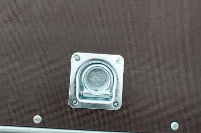 Kotvící miska na vleku Faro Magicus 300x150, přívěs má celkem 6ks kotvících misek