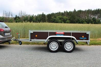 Dvounápravový přívěsný vozík LIDER 2D250 750kg.
