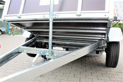 Sklopný hever pro sklápění přívěsu Lider 2D250 od Tanatech