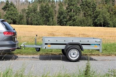 Nebrzděný vlek za auto Martz Basic 201 x 125