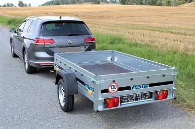 Nebrzděný hobby přívěs Martz Basic 201 750kg od Tanatech