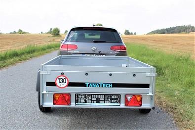 Přívěs za auto MARTZ Basic 201 s ložnou plochou 201 x 125cm