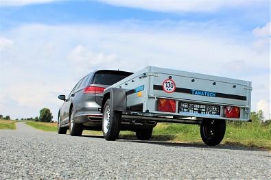 Nebrzděný přívěsný vozík MART BASIC 201 201x125cm 750kg od Tanatech