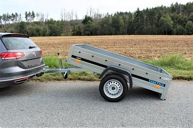 Martz Basic 200 Kipp - sklopný přívěsný vozík od Tanatech
