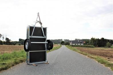 MARTZ Basic 200 Kipp lze postavit na zadní čelo.