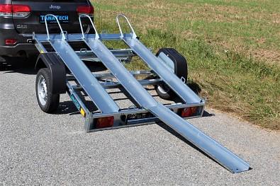 Přívěs Martz GP 3 NEW 750kg pro 3 motocykly sklopný