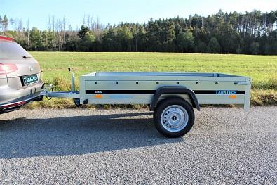 Přívěsný vozík MARTZ Basic 230x125 750kg od Tanatech 230