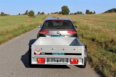 Vlek za auto Martz Basic 230x125cm nebrzděný 750kg