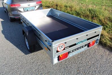 Nebrzděný přívěs Martz Basic 230 230cm x 125cm nebrzděný 750kg