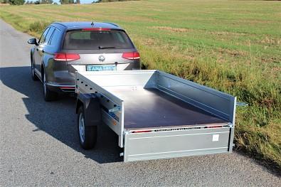 Přívěs Martz Basic 230 ložná plocha 230 x 125 nebrzděný do 750kg