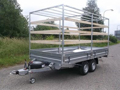 Přívěs UNK 2200x5000 valník 3500kg