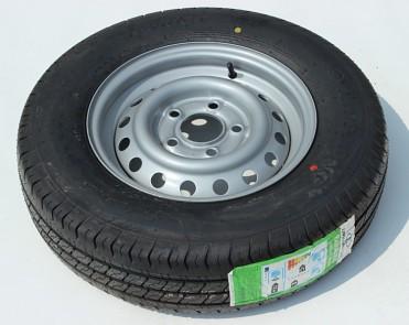 kompletní kolo s diskem 165 R13 C s dislem 4,5J x 13 112x5 ET30