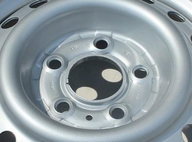 rozteč děr po kružnici 112x5 středová díra 67mm