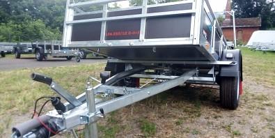 Pongratz LPA 250 překližkový brzděný přívěs