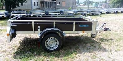 Pongratz LPA 250 překližkový brzděný přívěsný vozík