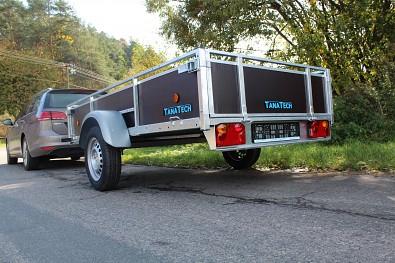 Překližkový přívěsný vozík Lider od Tanatech