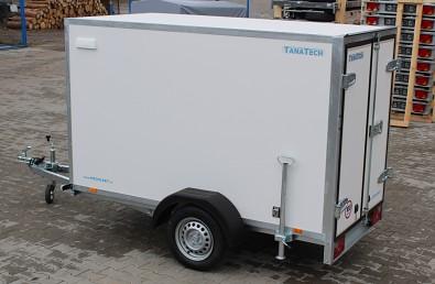Překližkový skříňový přívěsný vozík