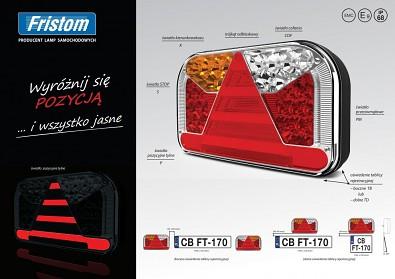 Fristom FT-170 zadní LED světlo + neon