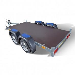 Přívěsný vozík nebrzděný dvounápravový Faro