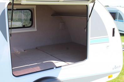 Vnitřní prostor karavanu
