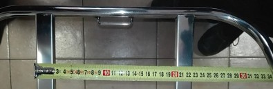Šířka na uchycení 20cm na osy příček