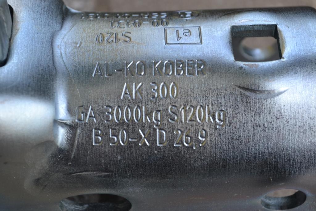 Označení přívěsného kloubu AL-KO