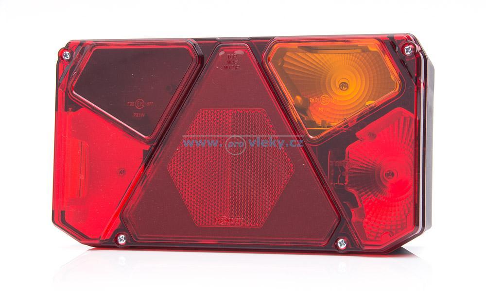 Zadní světlo 912BZ vč. konektoru a žárovek pravé