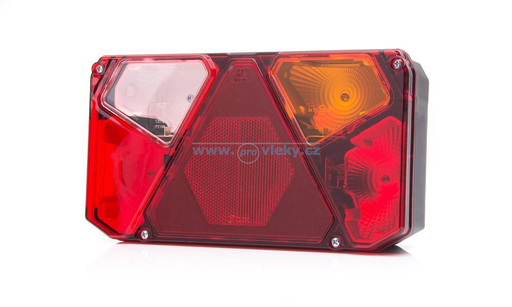 Zadní světlo 912Z vč. konektoru a žárovek pravé