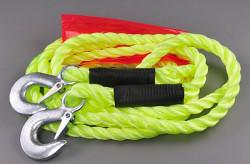 Tažné lano 5000kg s jistícími háky