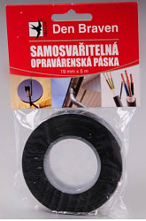 Páska samozvariteľná čierna RL 19mm x 5m